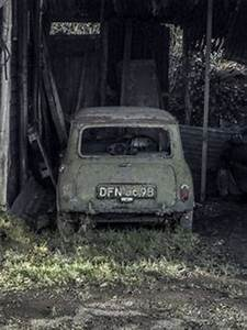 Broken 1966 Austin Mini Countryman Rusted Rusty Rotten