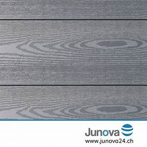 Wpc Terrassendielen Grau Massiv : terrassendielen grau komplettpaket senso 18 m von junova 24 ~ Sanjose-hotels-ca.com Haus und Dekorationen