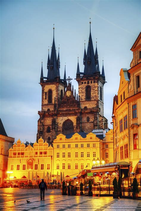 Church Of Our Lady Before Tyn In Prague Budapest