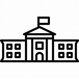 The WhiteHouse Icon   Line Iconset   IconsMind