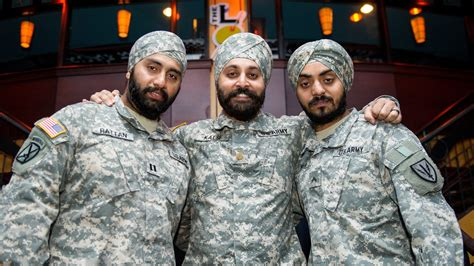 Why Are Only Three Observant Sikh Men Serving In The U.s