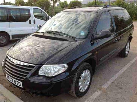 Chrysler 7 Seater by Chrysler 2007 Grand Voyager 2 8crd Diesel 7 Seat Lhd Left