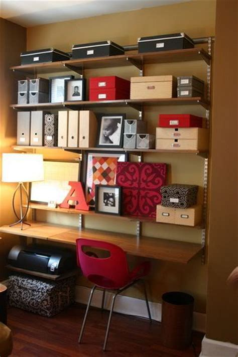 office desk storage ideas 51 cool storage idea for a home office shelterness