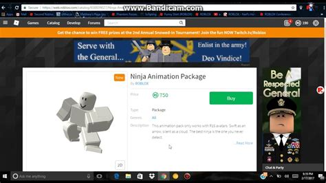 Roblox Ninja Animation - Wholefed org