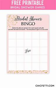 bridal shower bingo free bridal shower printables With wedding shower card printable free