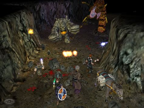 dungeon siege i shadowgame dungeon siege screen game1