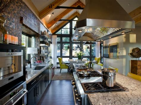 demonter une hotte de cuisine 40 idées de hotte îlot et murale design