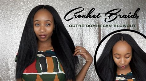 Knotless Outre Dominican Blowout Straight Crochet
