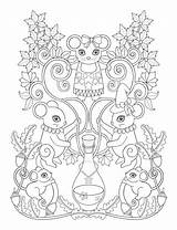 Coloring Pages Para Potion Caderno Flores Sheets Salvo Uploaded User sketch template