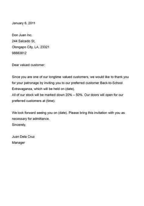 Business Invitation Letter Sample | Letters – Free Sample