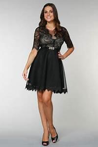 Robe Femme Ronde Chic : robe glamour pour femme ronde ~ Preciouscoupons.com Idées de Décoration