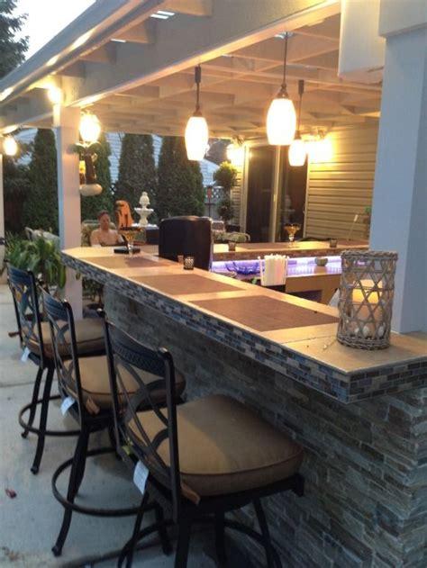 best 25 patio bar ideas on