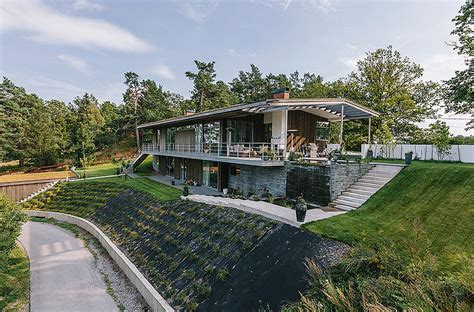 Villa On The Swedish Island Of Lidingo villa on swedish island lidingo