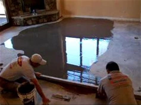 Concrete leveling   We pioneered our method of concrete