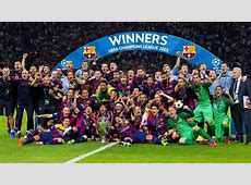 FC Barcelona Make History With Second European Treble