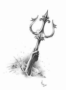 Poseidon's Trident by LioNeL-K on DeviantArt