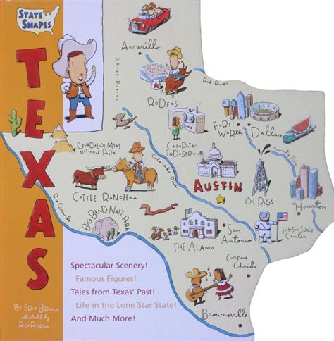 state shapes texas written  erik bruun  illustrated