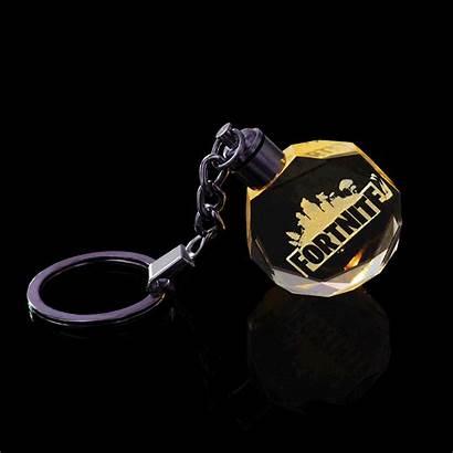 Fortnite Toys Gem Cool Keychain Crystal Wholesale