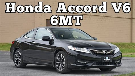 honda accord  coupe mt regular car reviews youtube