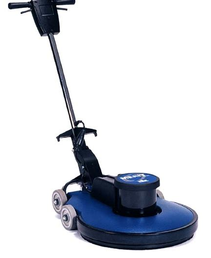 High Speed Floor Buffer by Floor Burnisher