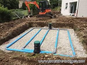 Assainissement Fosse Septique : photo l 39 assainissement individuel la fosse toutes eaux ~ Farleysfitness.com Idées de Décoration