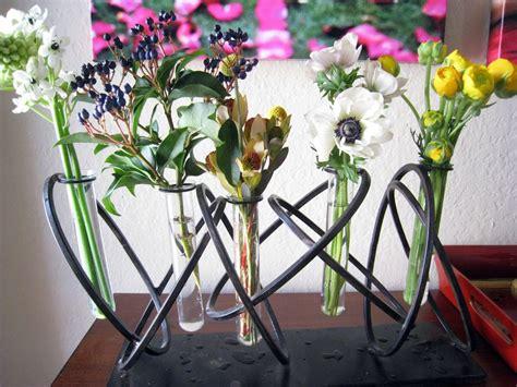 recycle gorgeous test tube flower vases