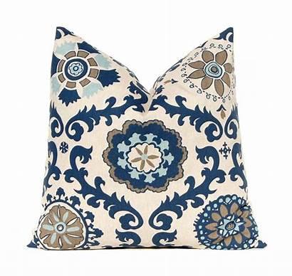 Pillow Covers Sofa Throw Navy Decorative Pillows