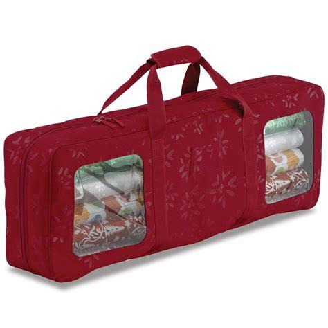 Holiday Gift Wrap Storage W Organizer  Thos Baker