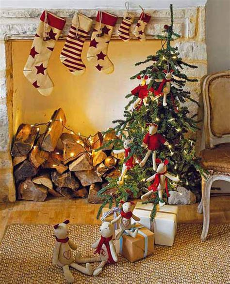 country christmas decorating ideas 40 cozy and country decorating ideas all about