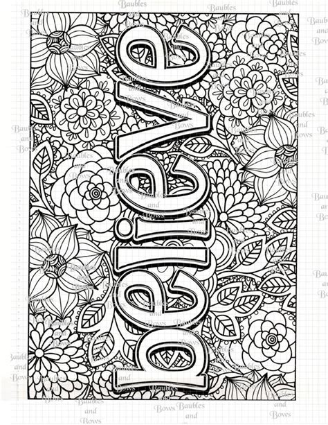 796 best WORDS coloring pages images on Pinterest
