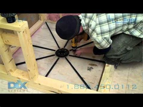 Install A Shower Drain by Shower Pan Install Dix Step 1 Floor Prep Pre Pitch