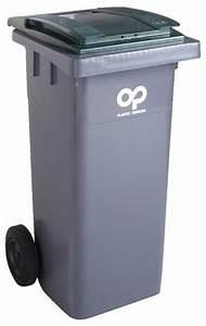 Conteneur Poubelle Brico Depot : conteneur d chets et couvercle vert 240 l brico d p t ~ Melissatoandfro.com Idées de Décoration