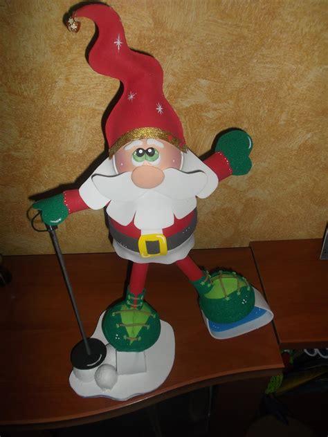 adornos de navidad  goma eva  manualidades
