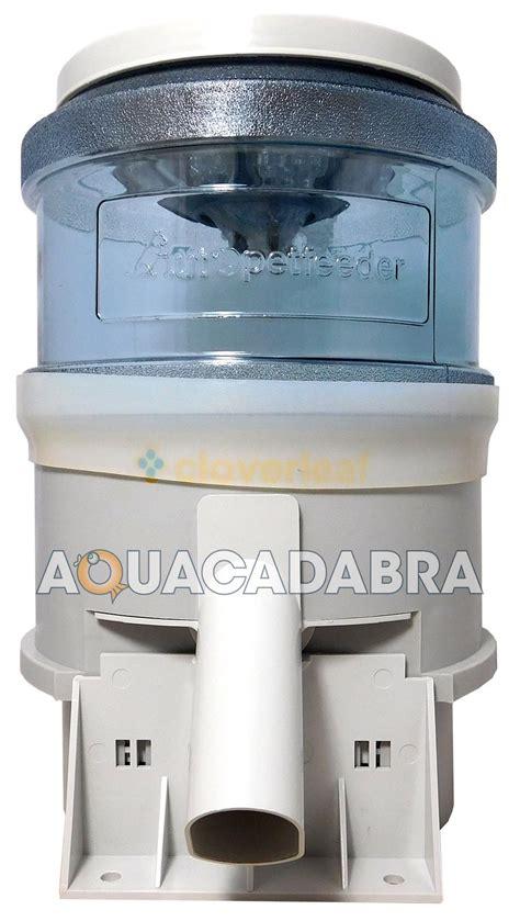 cloverleaf electronic automatic fish feeder lbs lbs