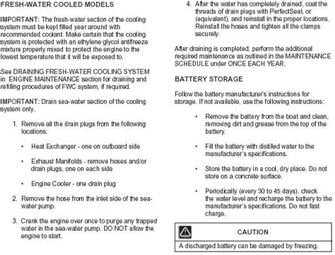 How To Winterize A Nautique Boat by Basic Winterization Steps For 2002 2012 Nautiques