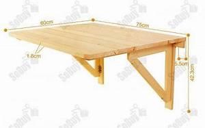 Tisch Zum Klappen : sobuy fwt05 wandtisch wandklapptisch klapptisch holztisch tisch 75x60cm 2 st tzen ~ A.2002-acura-tl-radio.info Haus und Dekorationen