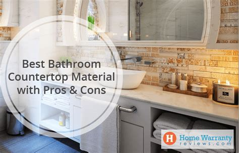 best material for countertops best bathroom countertop material with pros cons