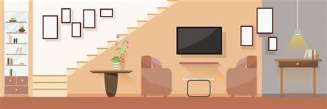interior modern living room  furniture flat design