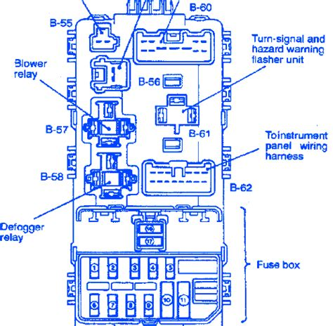 mirage 3door 2002 turn signal fuse box block circuit breaker diagram 187 carfusebox