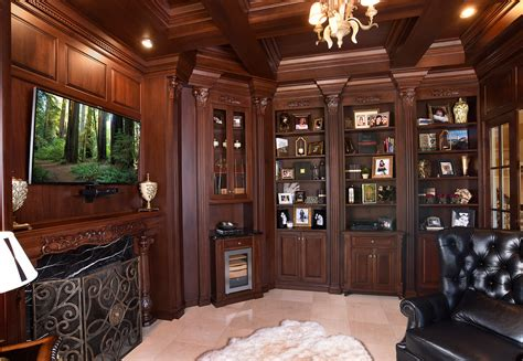 bathroom cabinet organization ideas mullet cabinet library den with cherry cabinetry