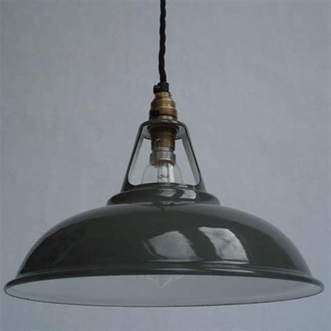 enamel workshop shade from historic lighting industrial