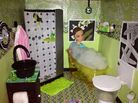 Bathroom Glam Inspired By My Froggy Stuff  Barbie Diy