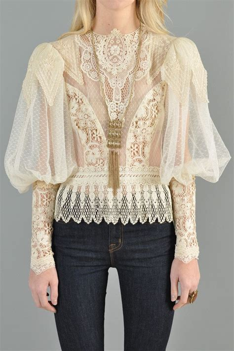 lace victorian blouse breeze clothing