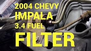 2004 Chevy Impala Fuel Filter Replacement   Philadelphia