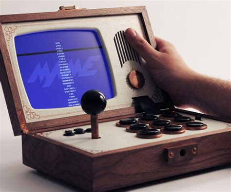 Portable Arcade Console Emulator Interwebs