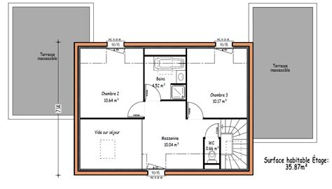 plan maison a etage 3 chambres plan maison 160 m2 etage plans de maisons tage plan au