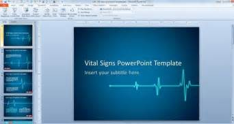 microsoft powerpoint designs free animated vital signs powerpoint template