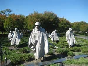 Korean War Veterans Memorial Washington DC