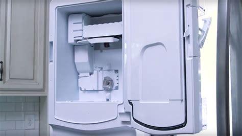ge appliances french door refrigerator icemaker installation youtube