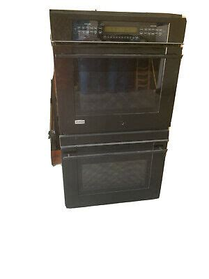 ge profile monogram black electric double oven ebay